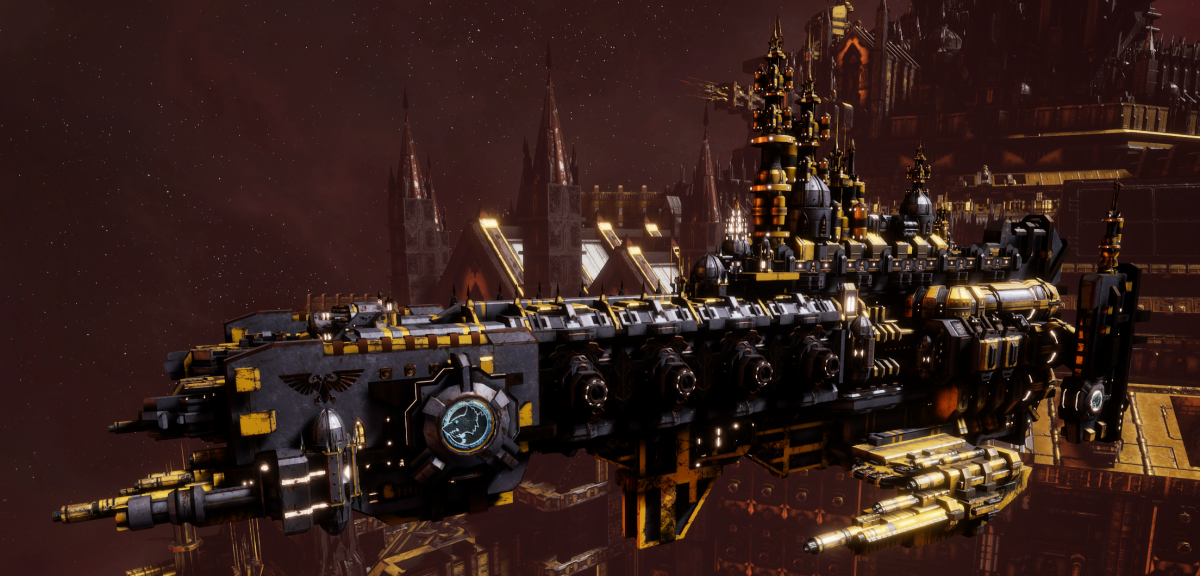 Adeptus Astartes Cruiser - Strike Cruiser MK.I (Space Wolves Sub-Faction)