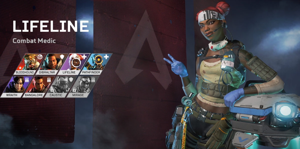 Lifeline: One of the Apex Legend Characters.