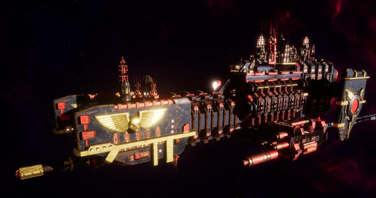 Adeptus Mechanicus Frigate - Nova (Stygies VIII Faction)