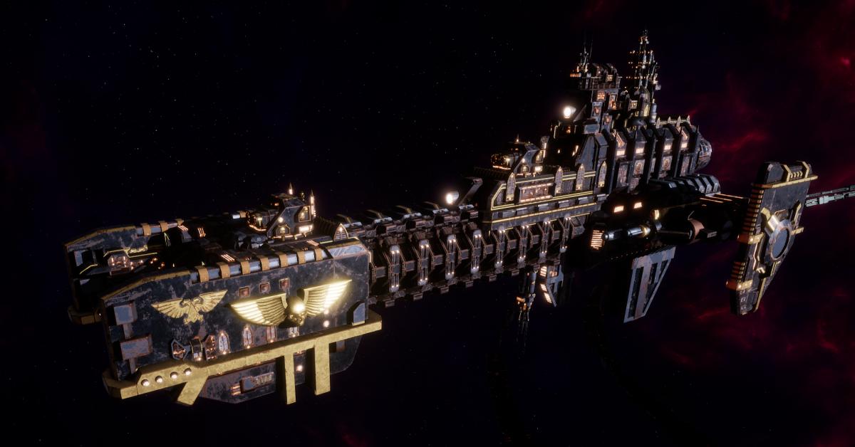 Adeptus Mechanicus Frigate - Gladius (Mars Faction)
