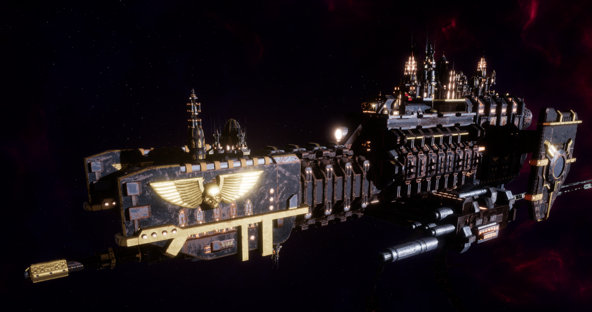 Adeptus Mechanicus Frigate - Nova (Mars Faction)