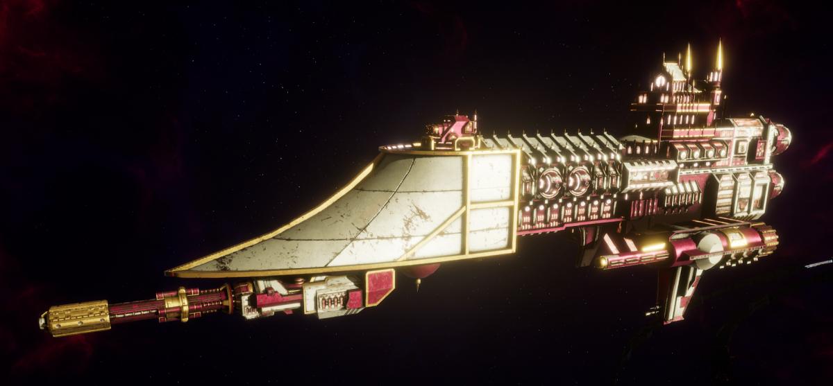 Adeptus Mechanicus Frigate - Firestorm (Graia Faction)