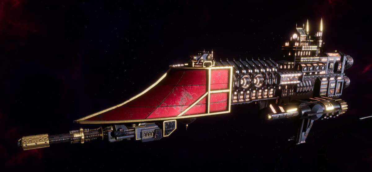 Adeptus Mechanicus Frigate - Firestorm (Mars Faction)