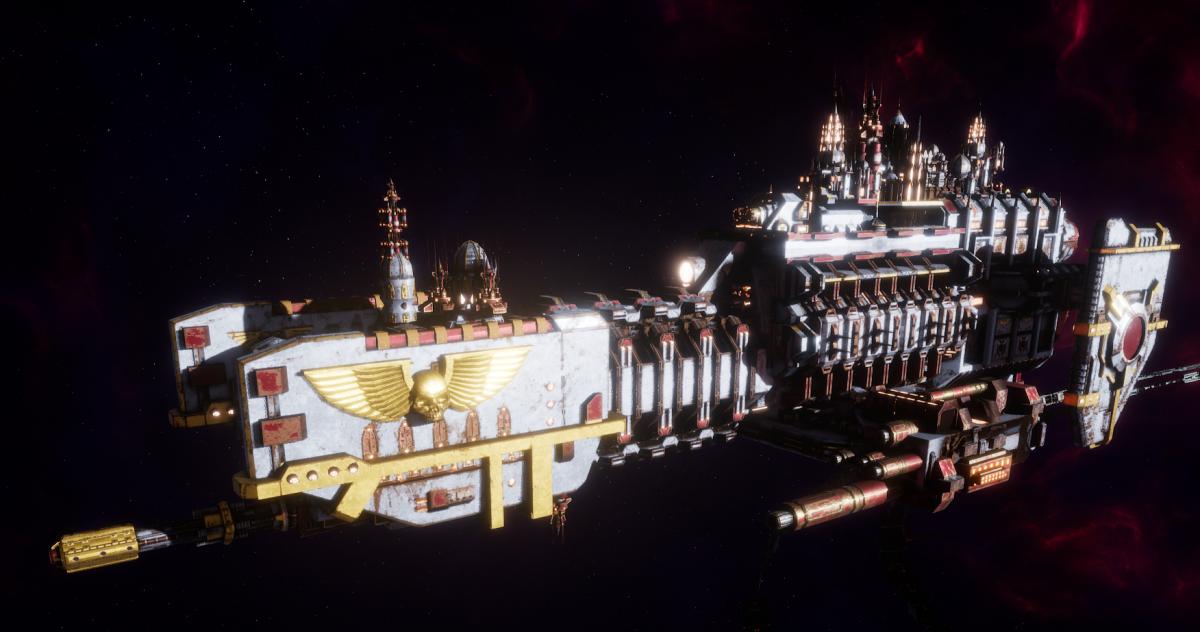 Adeptus Mechanicus Frigate - Nova (Metalica Faction)