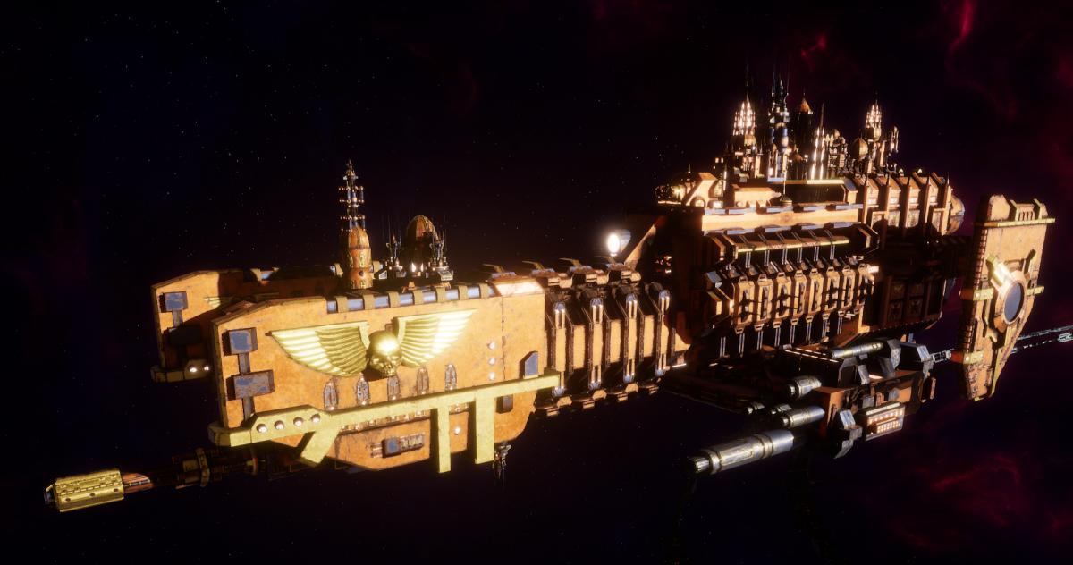 Adeptus Mechanicus Frigate - Nova (Ryza Faction)