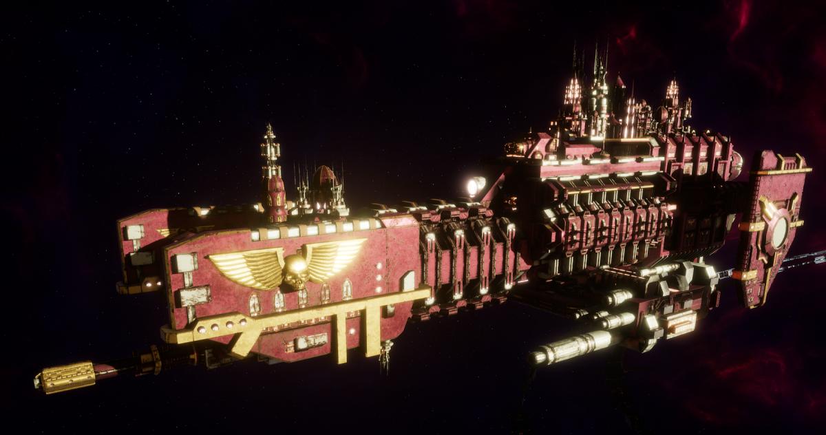 Adeptus Mechanicus Frigate - Nova (Lucius Faction)