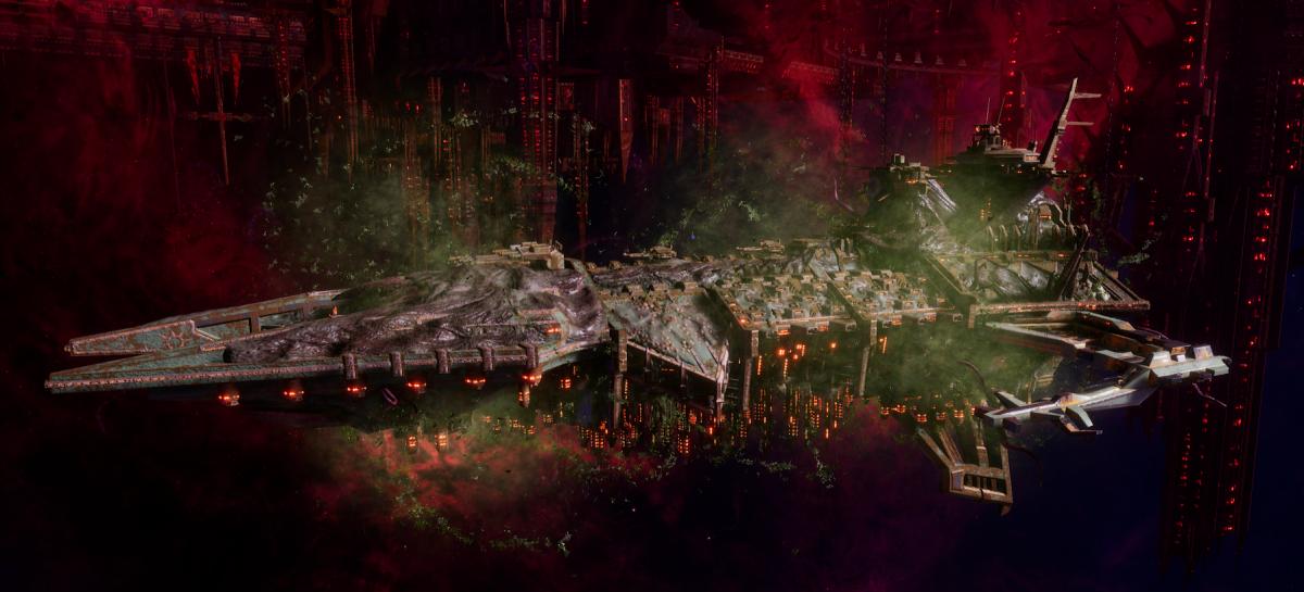 Chaos Battleship - Despoiler (Death Guard Sub-Faction)