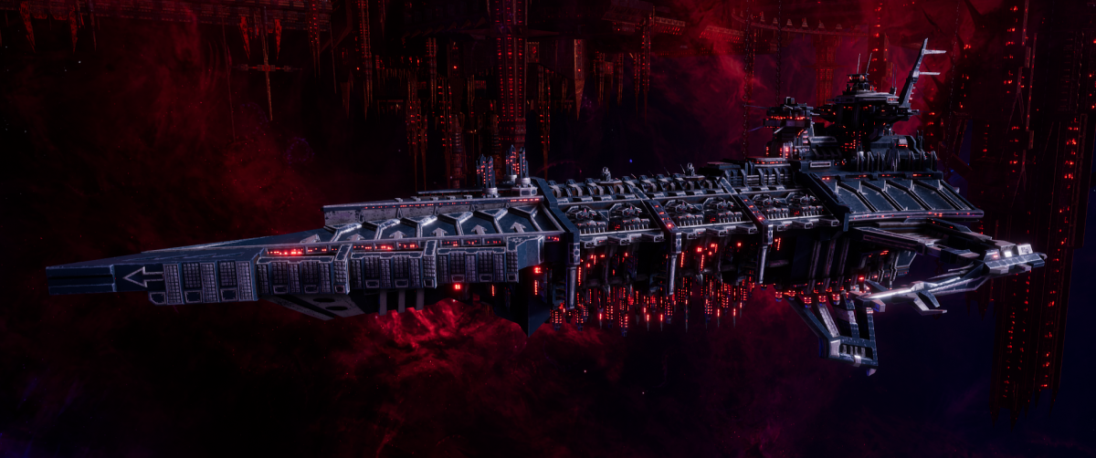 Chaos Battleship - Desolator (Lost and the Damned Sub-Faction)