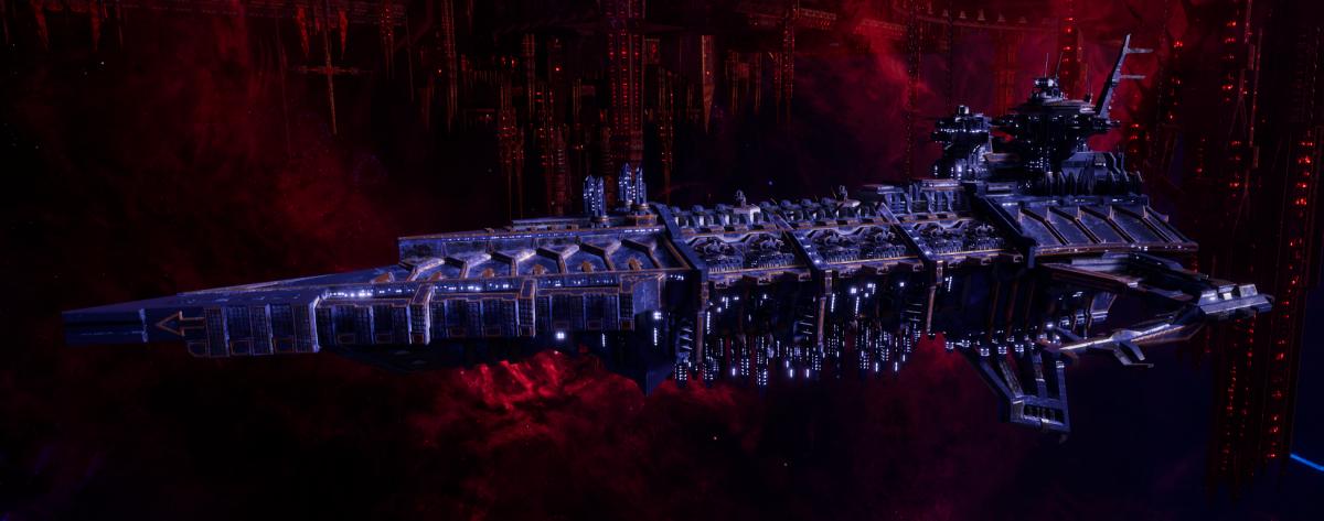 Chaos Battleship - Desolator (Night Lords Sub-Faction)