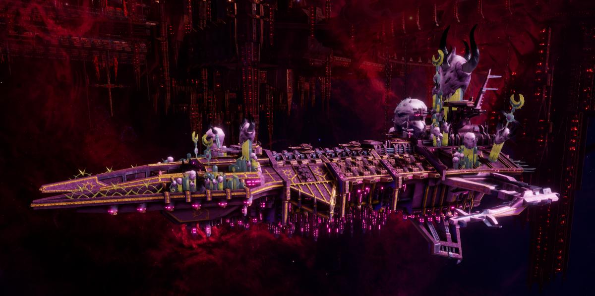 Chaos Battleship - Despoiler (Emperor's Children Sub-Faction)