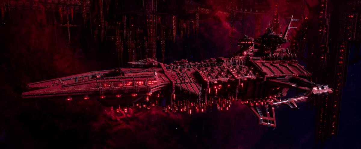 Chaos Battleship - Despoiler (Word Bearers Sub-Faction)