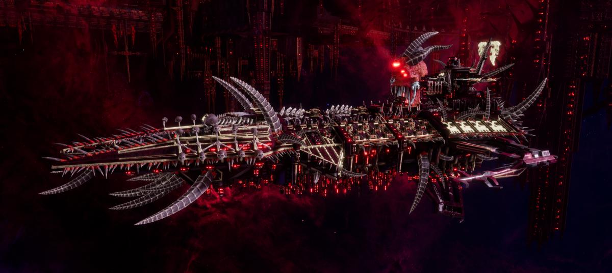 Chaos Battleship - Despoiler (World Eaters Sub-Faction)