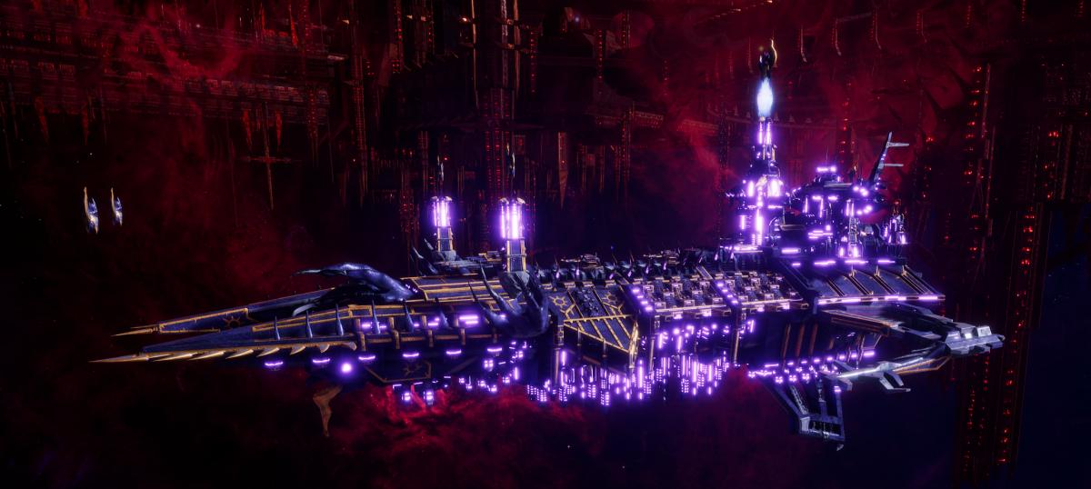 Chaos Battleship - Despoiler (Thousand Sons Sub-Faction)