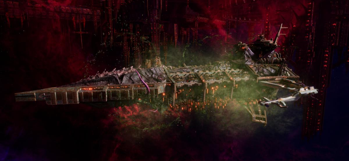 Chaos Battleship - Desolator (Death Guard Sub-Faction)