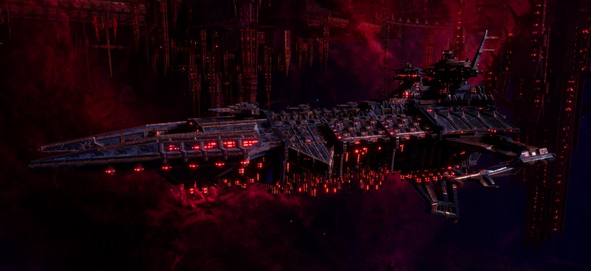 Chaos Battleship - Despoiler (Black Legion Sub-Faction)