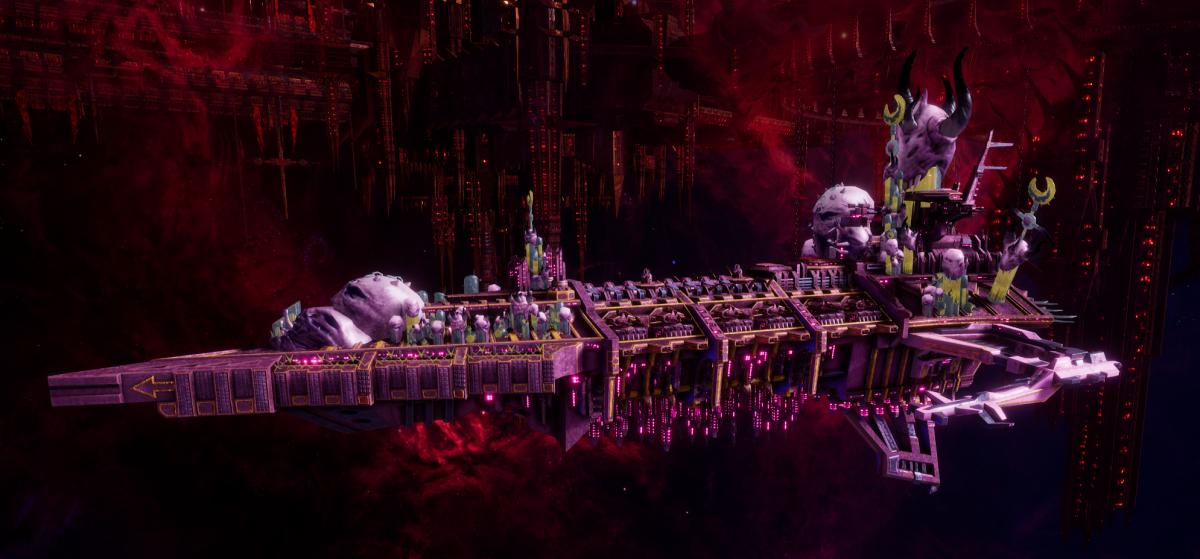 Chaos Battleship - Desolator (Emperor's Children Sub-Faction)