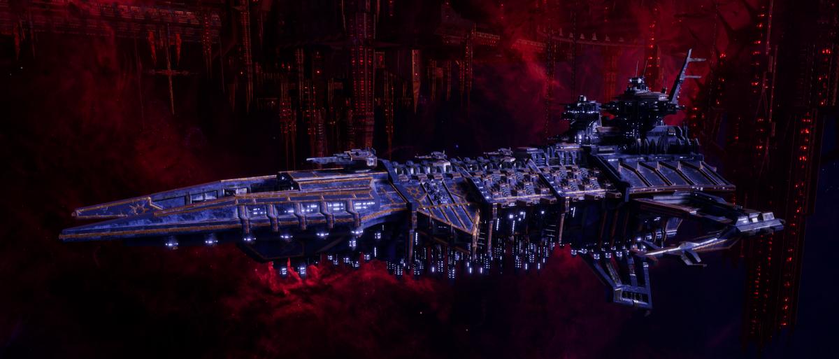 Chaos Battleship - Despoiler (Night Lords Sub-Faction)