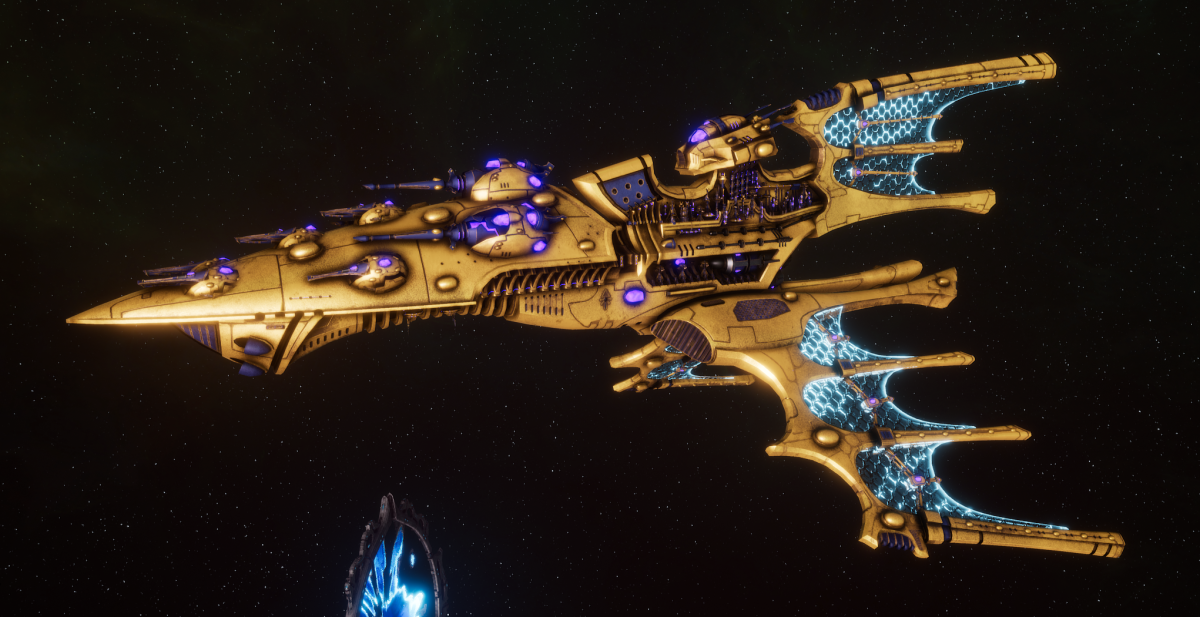 Aeldari Corsair Cruiser - Vaul [Eldritch Raiders - Sub-Faction]