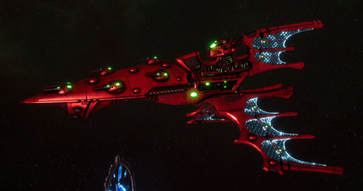 Aeldari Corsair Cruiser - Shadow [Ynnari - Sub-Faction]