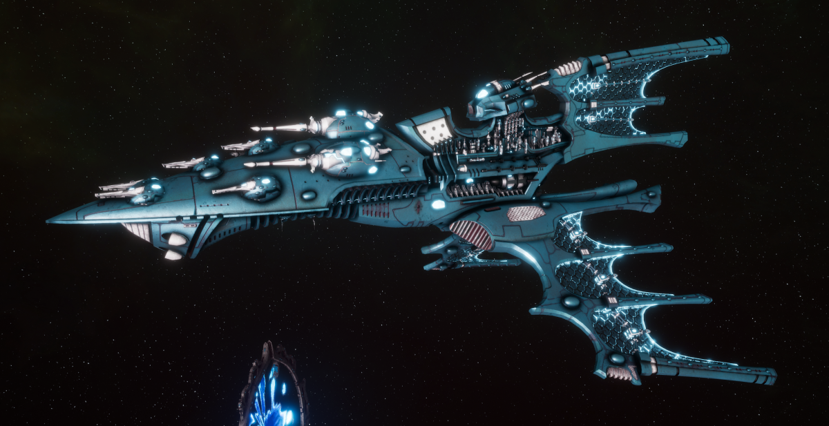 Aeldari Corsair Cruiser - Vaul [Sky Raiders - Sub-Faction]