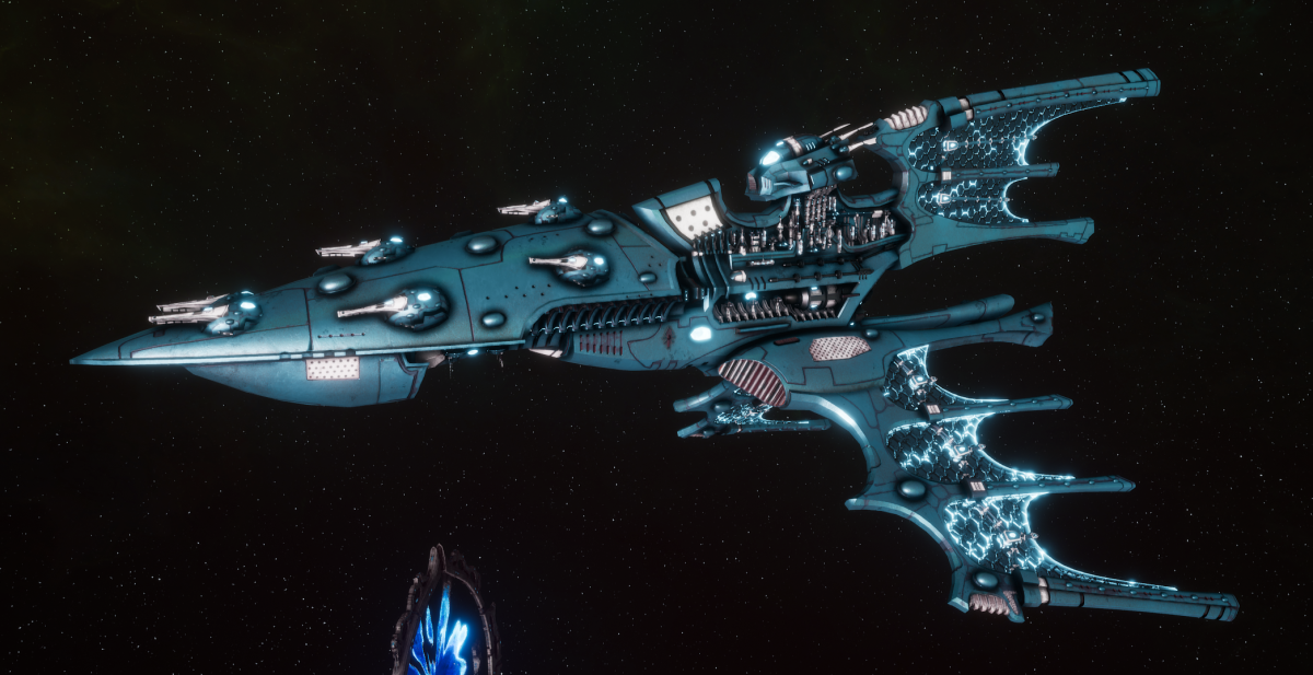 Aeldari Corsair Cruiser - Kurnous [Sky Raiders - Sub-Faction]