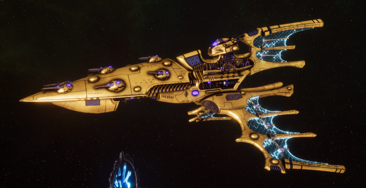 Aeldari Corsair Cruiser - Kurnous [Eldritch Raiders - Sub-Faction]