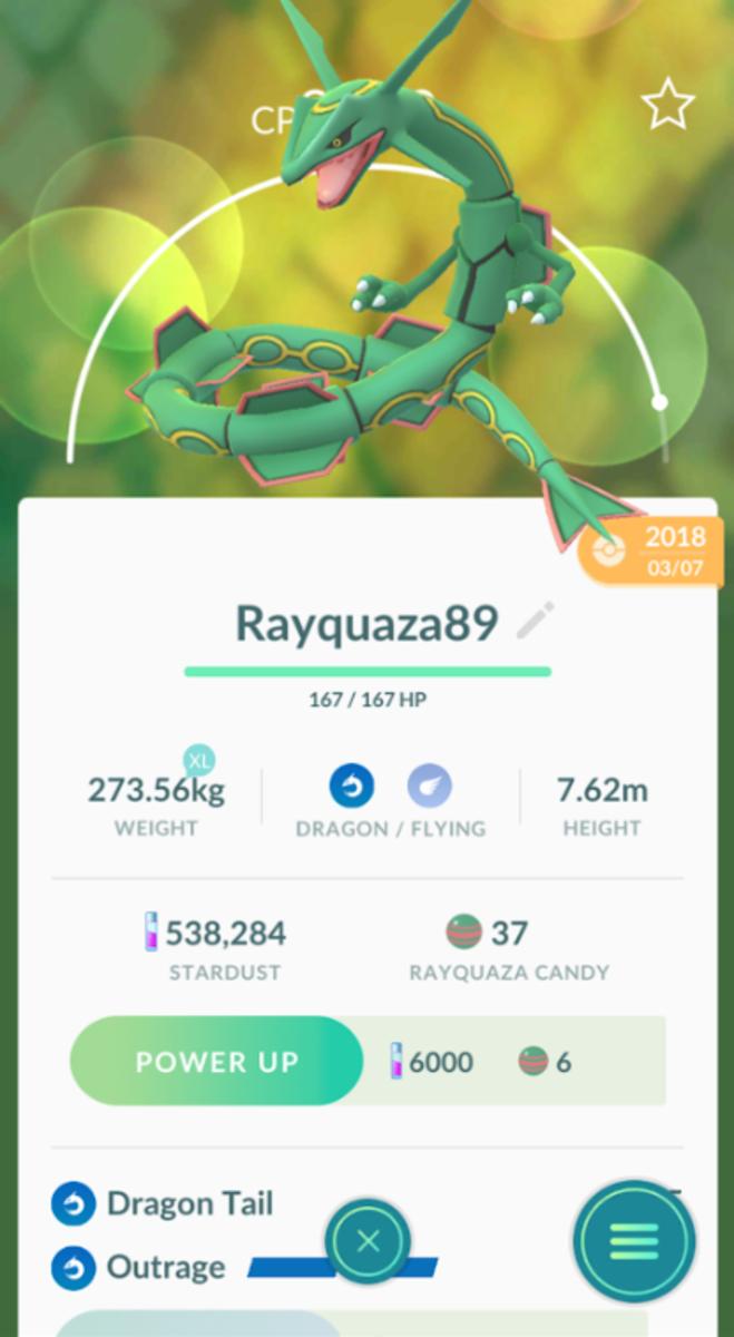 Rayquaza Screenshot