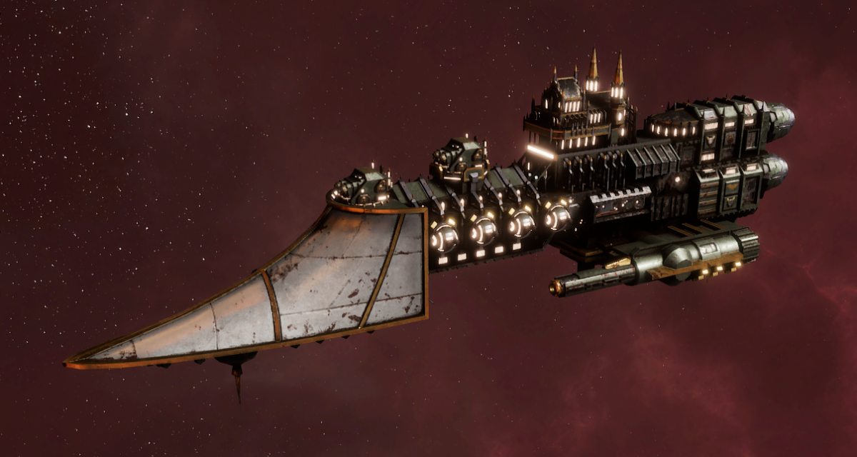 Imperial Navy Frigate - Sword (Gothic Sub-Faction)