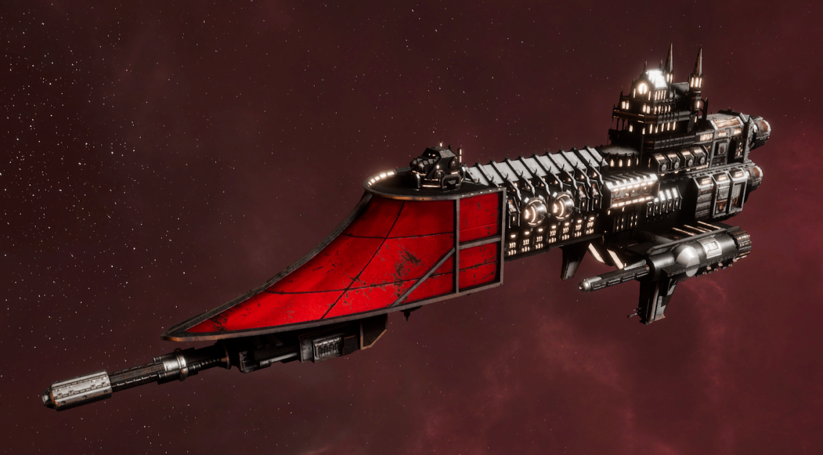 Imperial Navy Frigate - Firestorm (Koronus Sub-Faction)