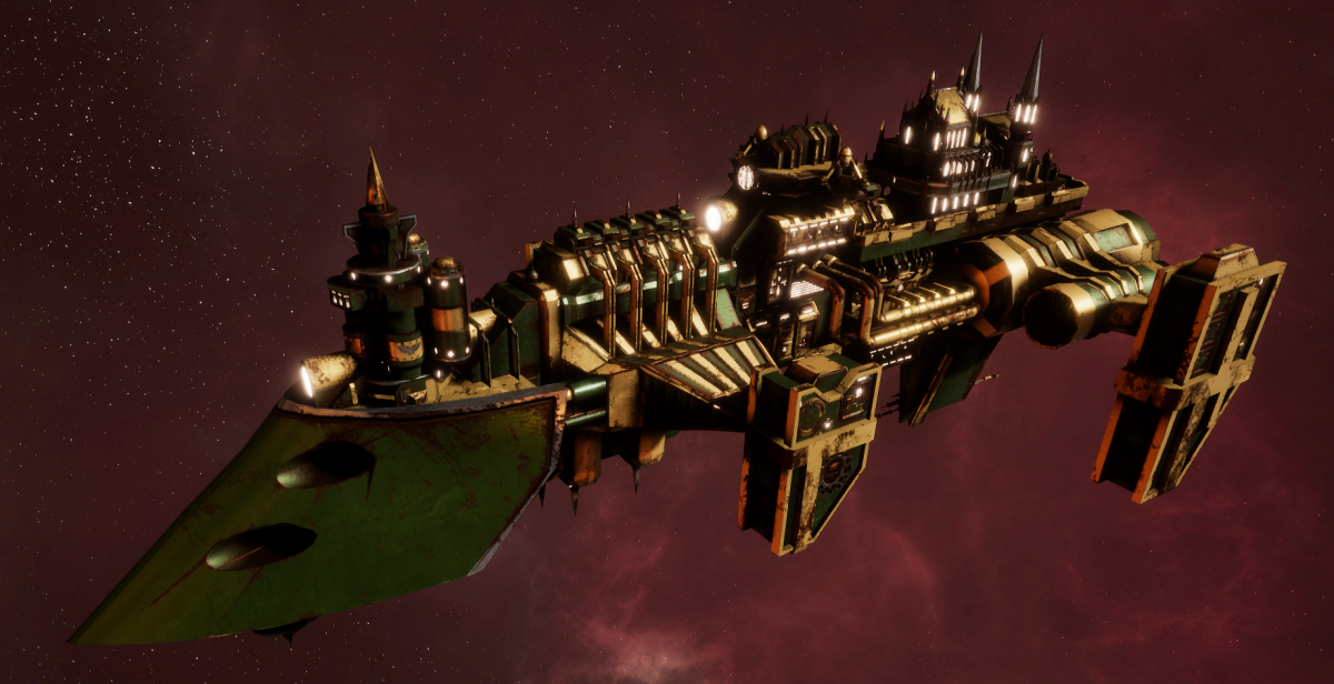 Imperial Navy Destroyer - Cobra Widowmaker (Bakka Sub-Faction)