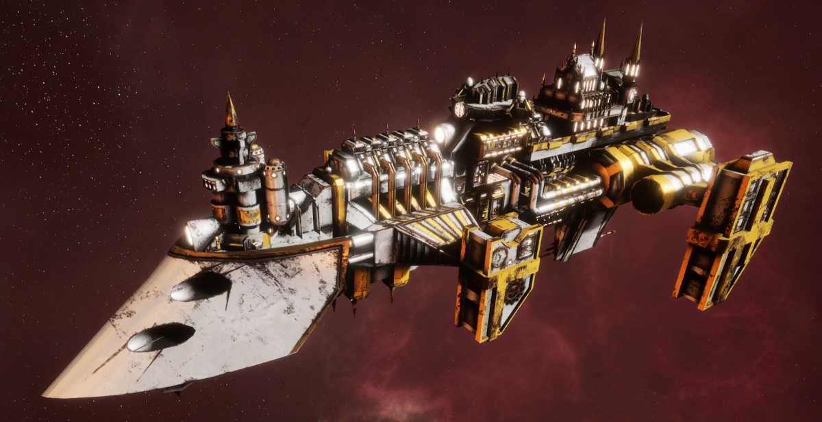 Imperial Navy Destroyer - Cobra Widowmaker (Solar Sub-Faction)