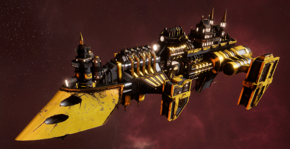 Imperial Navy Destroyer - Cobra Widowmaker (Armageddon Sub-Faction)