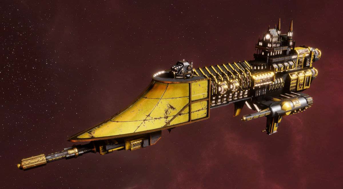 Imperial Navy Frigate - Firestorm (Armageddon Sub-Faction)