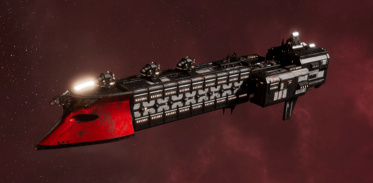 Imperial Navy Frigate - Falchion (Koronus Sub-Faction)