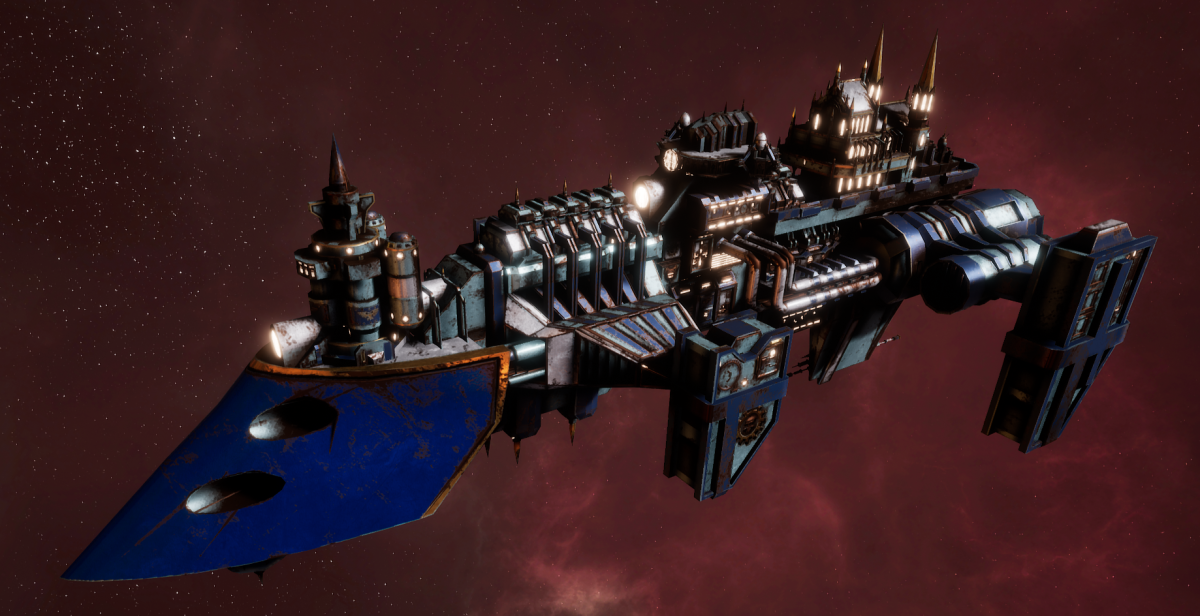 Imperial Navy Destroyer - Cobra Widowmaker (Bastion Sub-Faction)