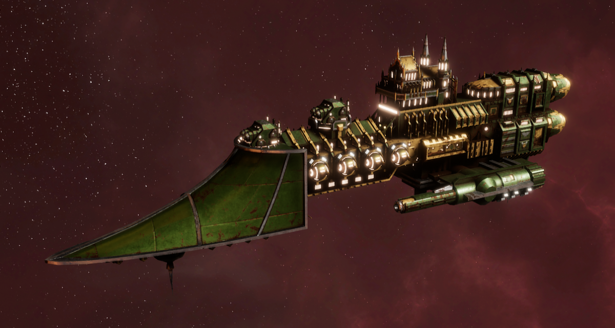 Imperial Navy Frigate - Sword (Bakka Sub-Faction)