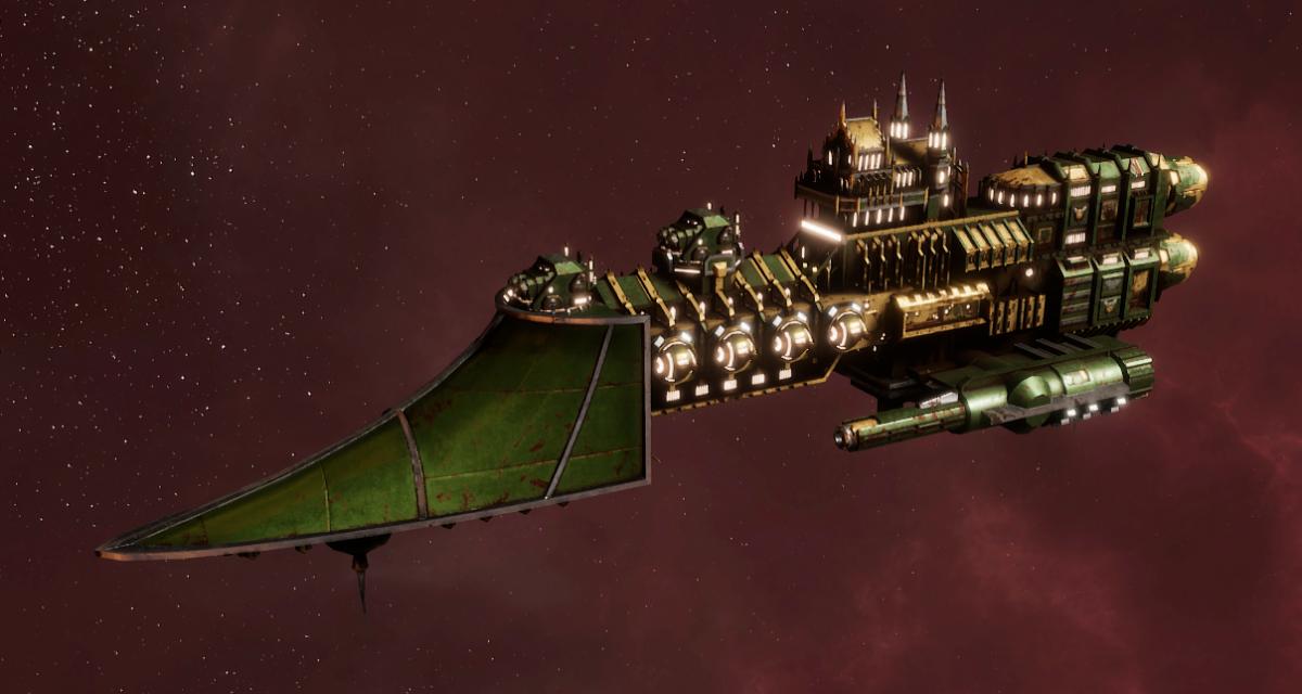 Imperial Navy Frigate - Sword (Bakka Sub-Faction)
