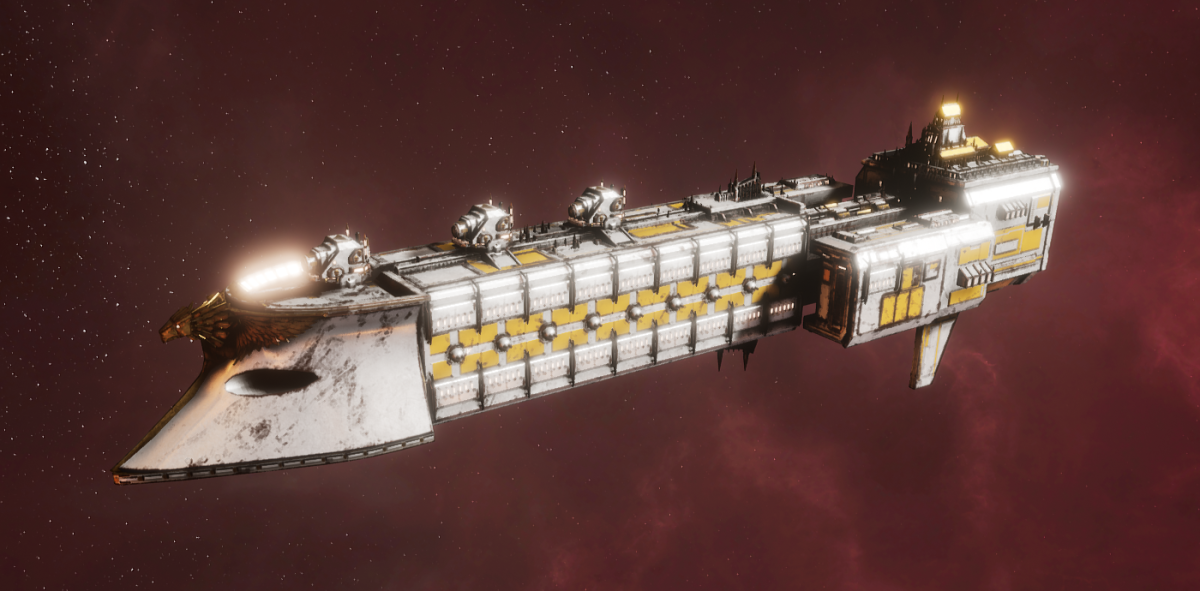 Imperial Navy Frigate - Falchion (Solar Sub-Faction)