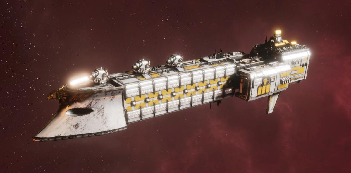 Imperial Navy Frigate - Falchion (Solar Sub-Faction)