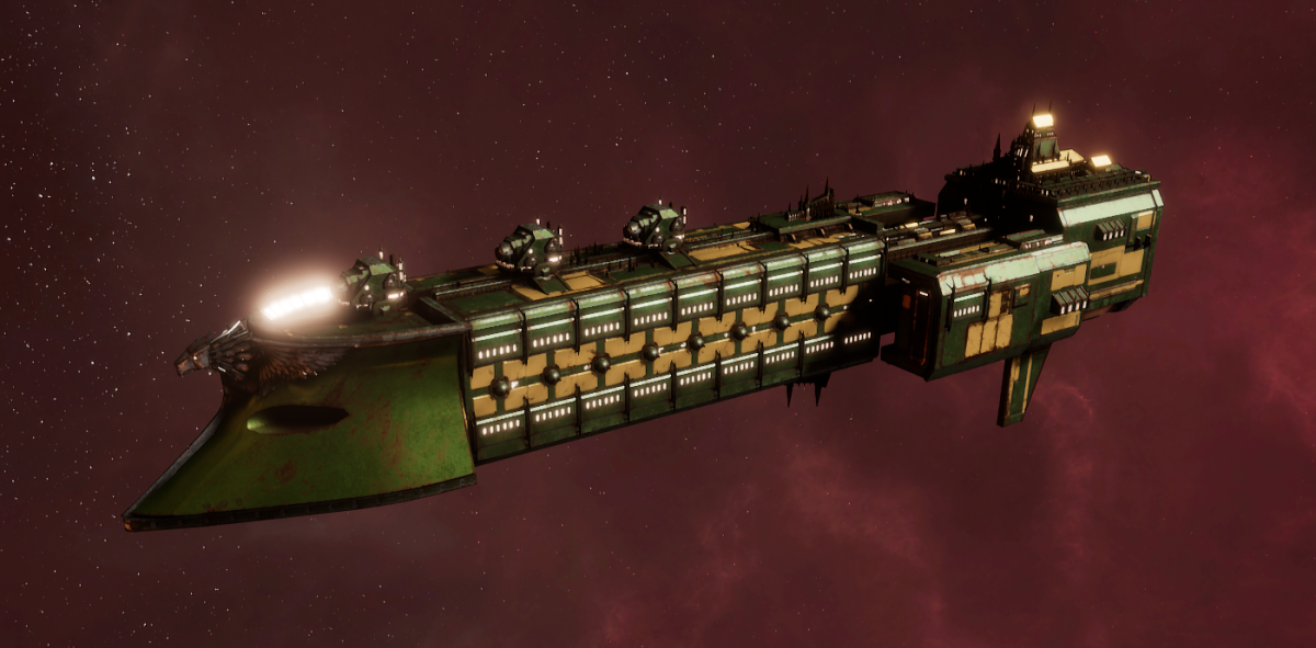 Imperial Navy Frigate - Falchion (Bakka Sub-Faction)