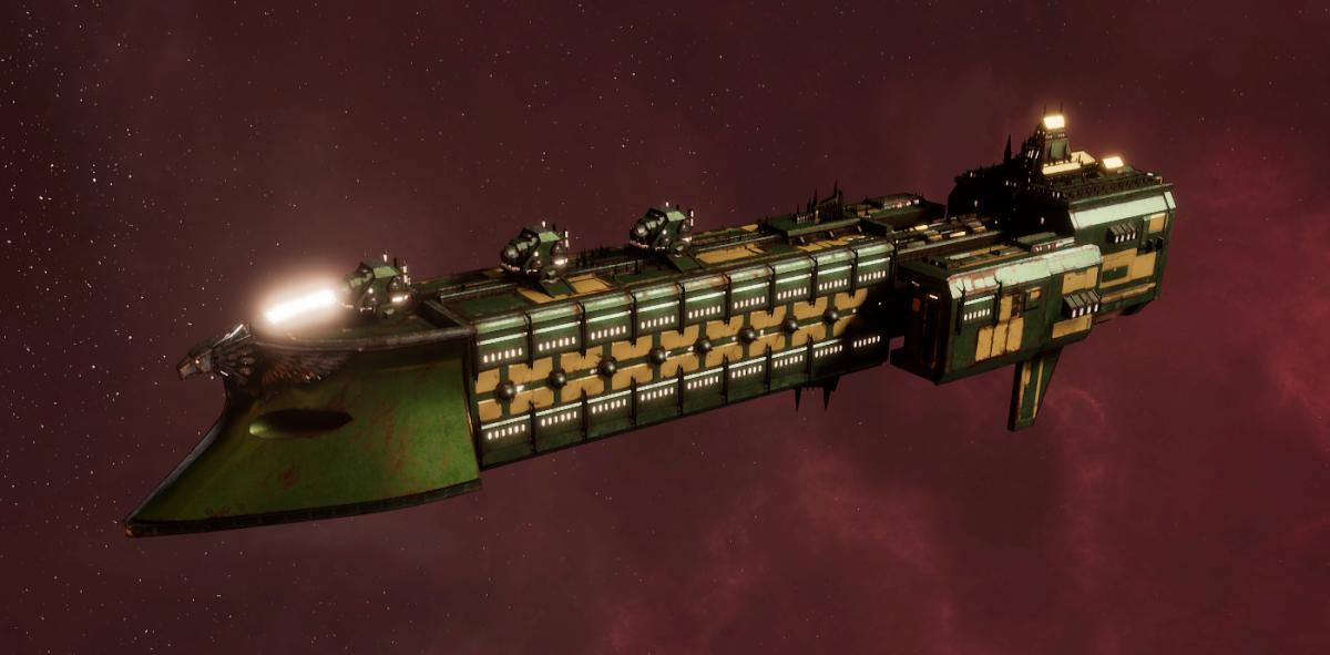 Imperial Navy Frigate - Falchion (Bakka Sub-Faction)