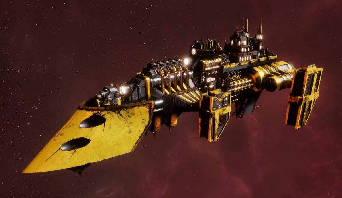 Imperial Navy Destroyer - Cobra (Armageddon Sub-Faction)