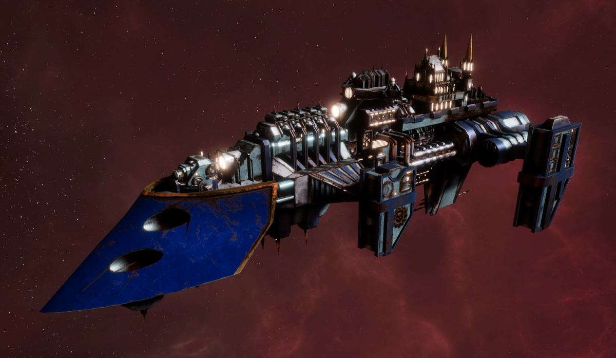 Imperial Navy Destroyer - Cobra (Bastion Sub-Faction)
