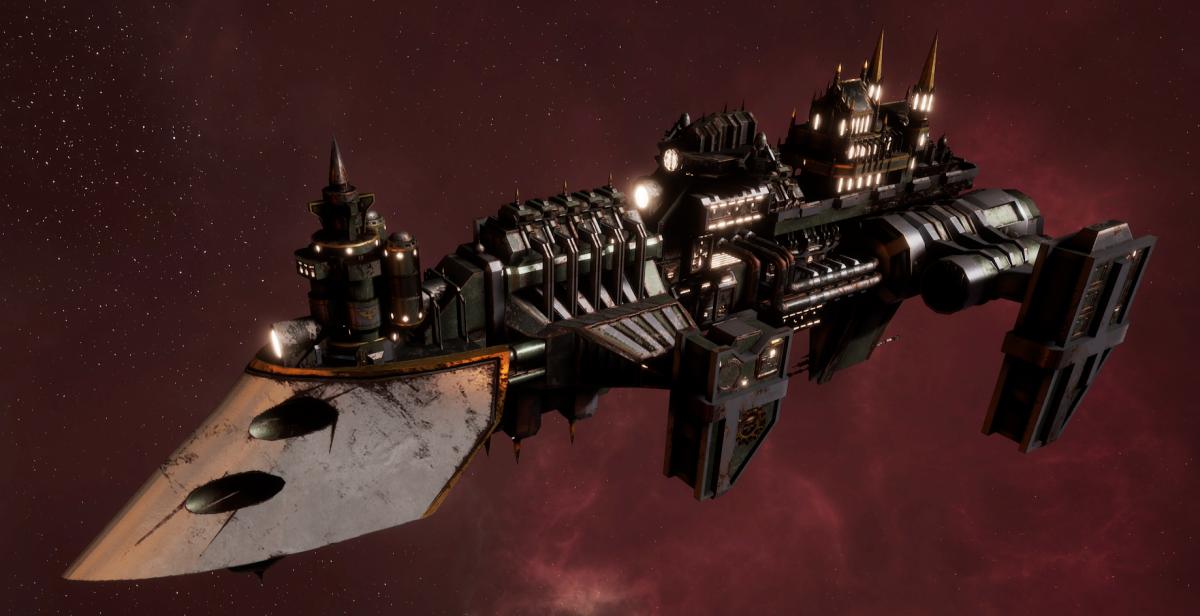 Imperial Navy Destroyer - Cobra Widowmaker (Gothic Sub-Faction)