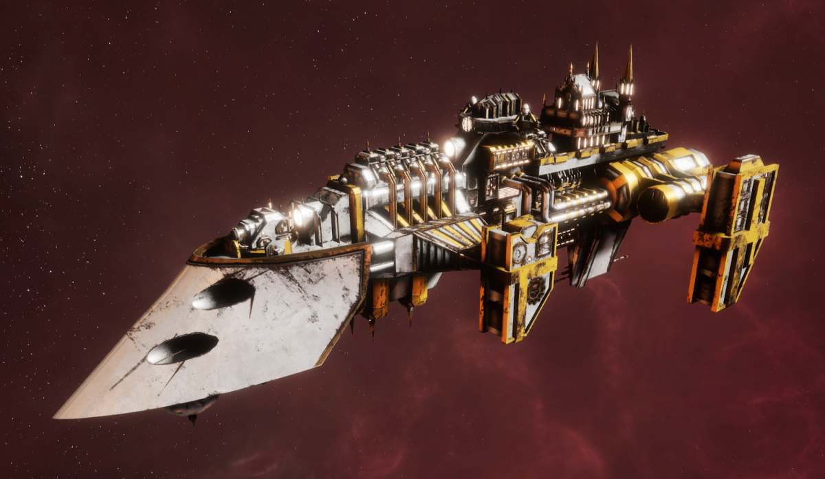 Imperial Navy Destroyer - Cobra (Solar Sub-Faction)