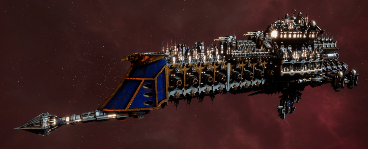 Imperial Navy Battle Cruiser - Overlord (Bastion Sub-Faction)