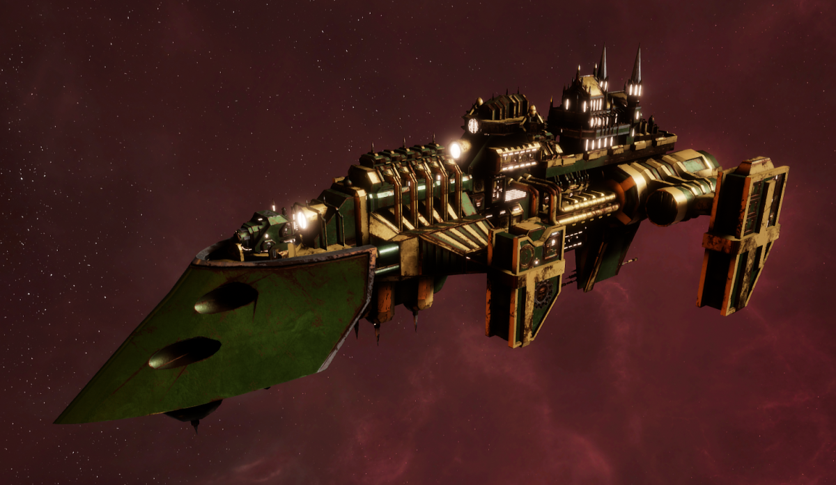 Imperial Navy Destroyer - Cobra (Bakka Sub-Faction)