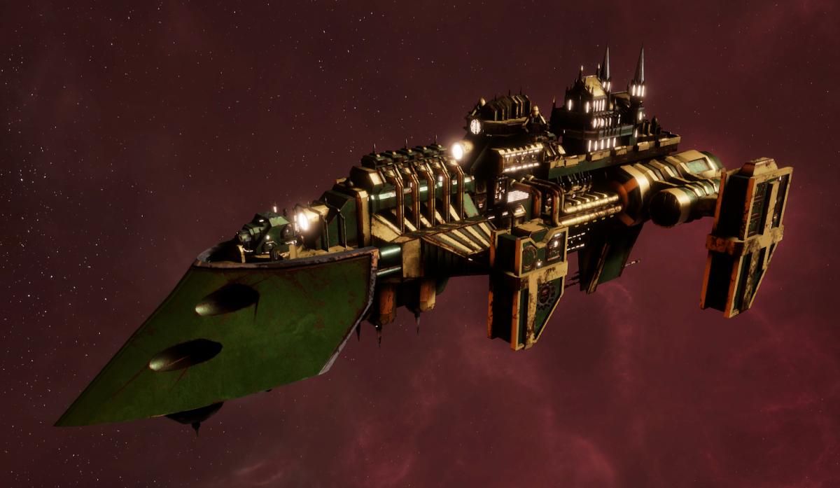 Imperial Navy Destroyer - Cobra (Bakka Sub-Faction)