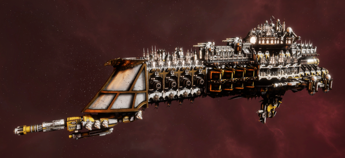 Imperial Navy Battle Cruiser - Mars (Solar Sub-Faction)
