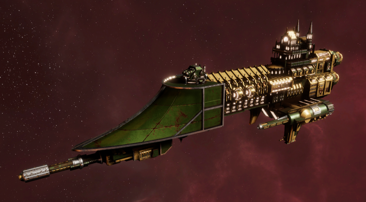 Imperial Navy Frigate - Firestorm (Bakka Sub-Faction)